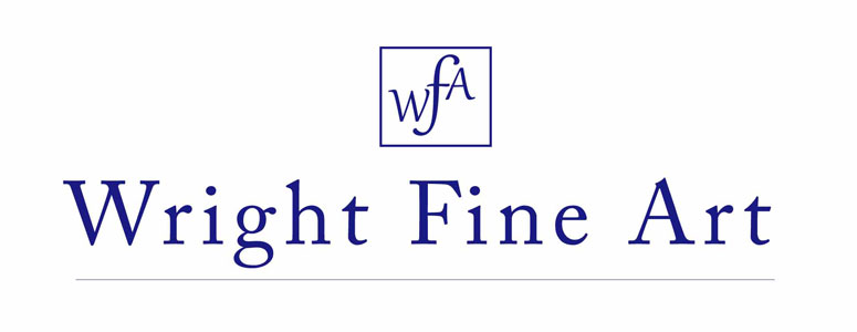 wright fine art website logo
